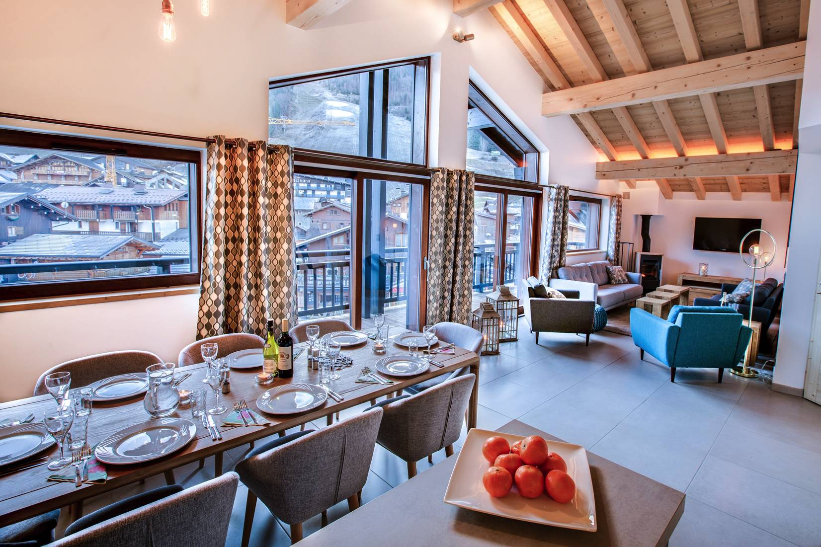 Be Chouette chalet chouette (winter), new central morzine chalet - reach4thealps