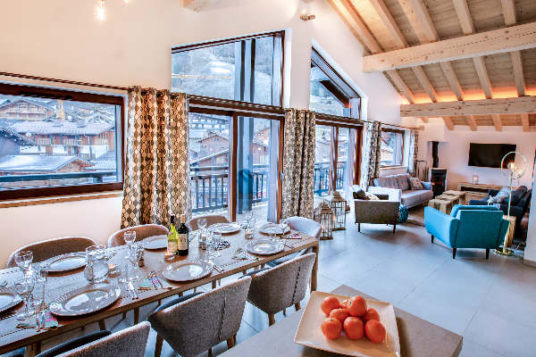 Chalet Chouette, central Morzine