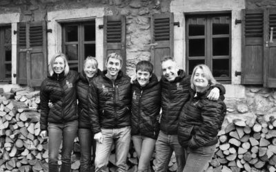 Meet our brand new team for winter 2017/18! How exciting!
