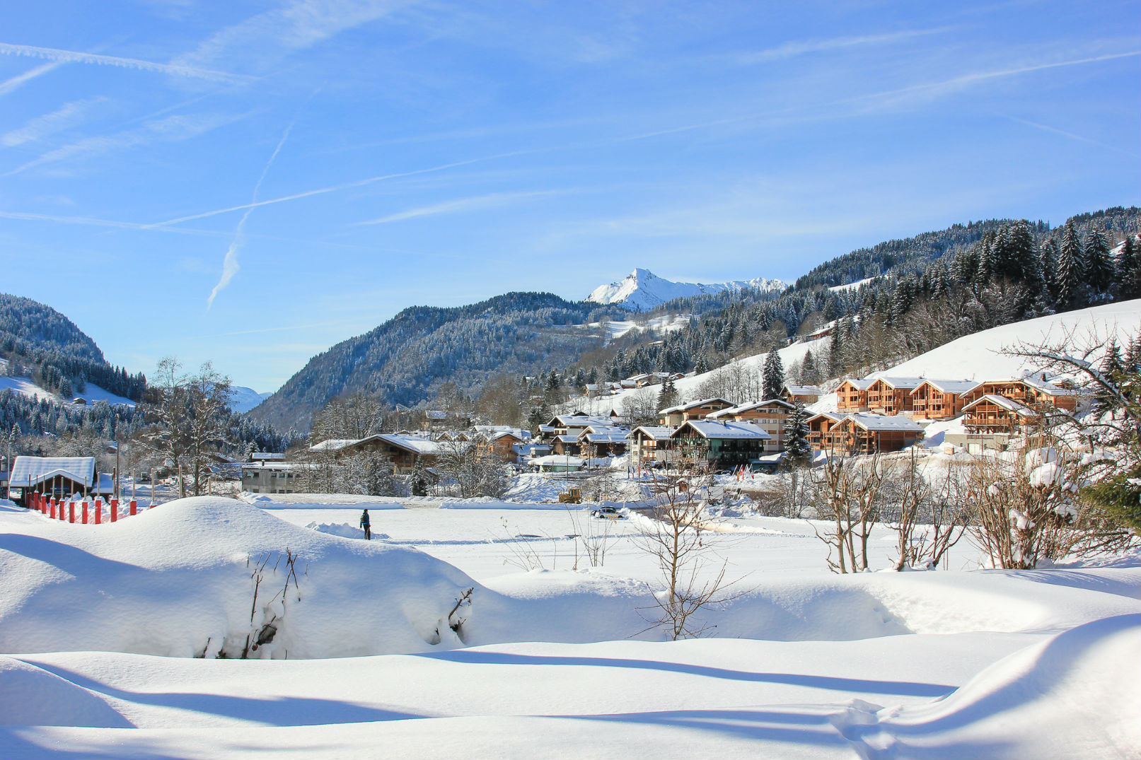 View From Chalet Shabine, Les Gets