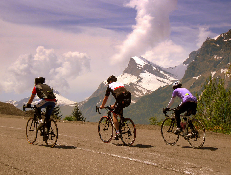 Road Cycling Holidays in Morzine and Les Gets