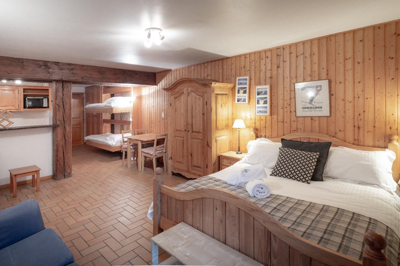 Studio Apartment Cote D'Arbroz, Chalet Sol Re