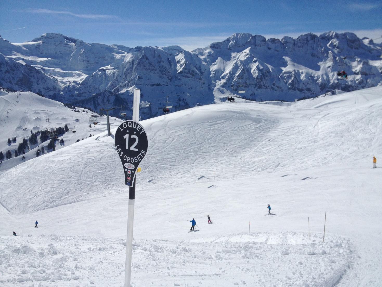 Les Crosets In The Portes Du Soleil Ski Area