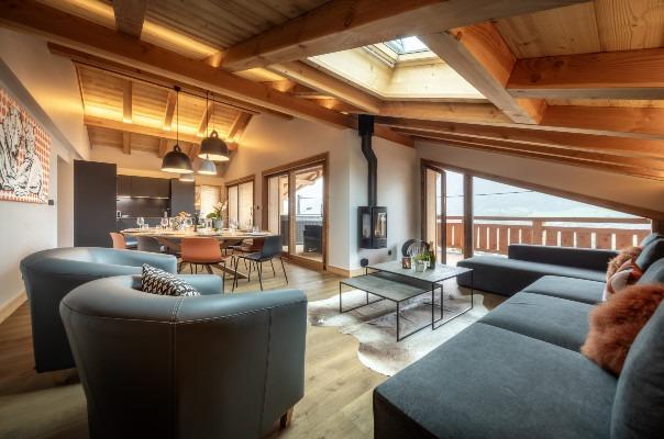 Chalet Jouet, large central Morzine chalet apartment